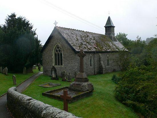 Church of St. Paternus or Padarn in Llanbadarn Fynydd, Powys (photo by Eirian Evans)