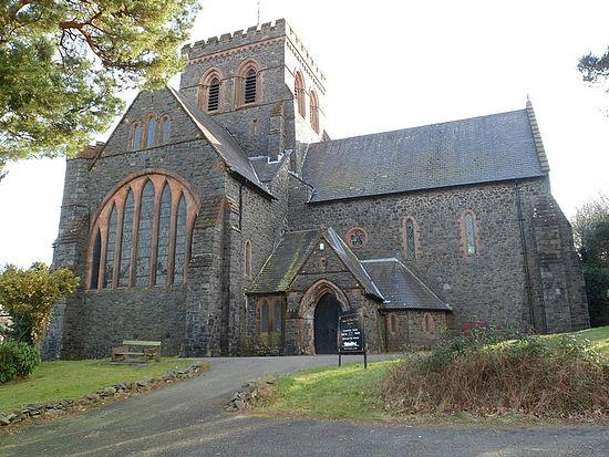 Church of St. Paternus or Padarn in Llanberis, Gwynedd