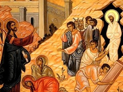 Sermon for the Beginning of Holy Week and the Raising of Lazarus