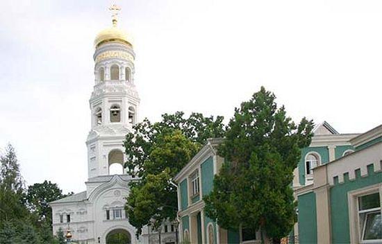 В Свято-Успенском монастрые Одессы