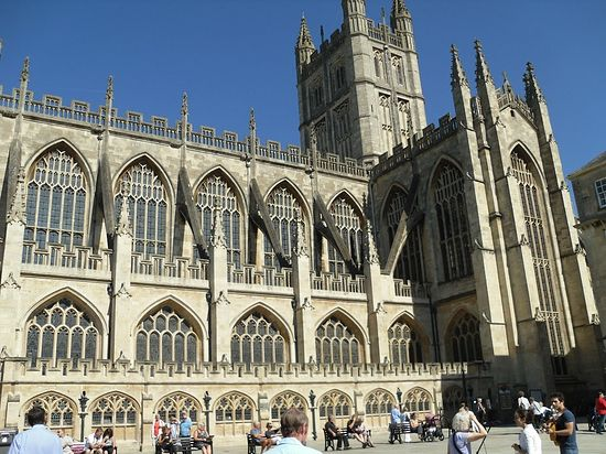 Bath Abbey (photo by Irina Lapa)
