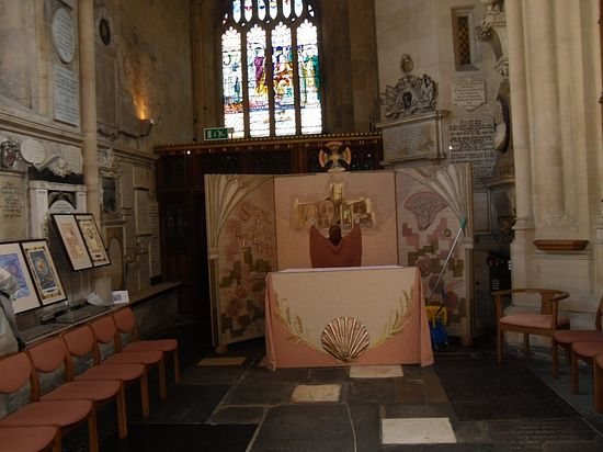 St. Alphege's Chapel inside Bath Abbey, Somerset (photo by Irina Lapa)