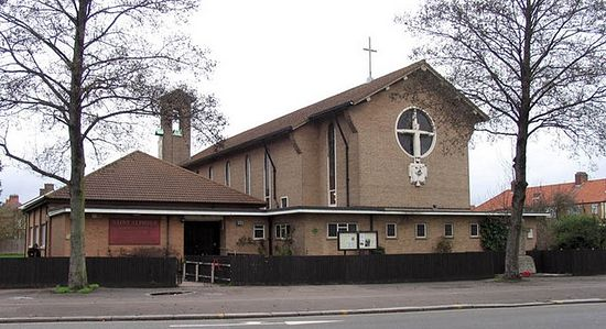 St. Alphege's Church in Edmonton, London (photo by John Salmon)