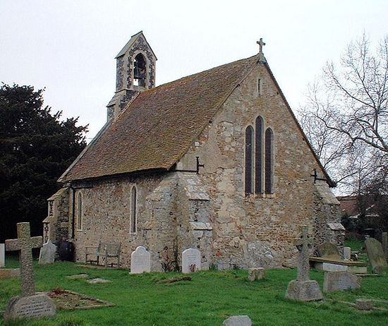 St. Alphege's Church in Seasalter, Kent