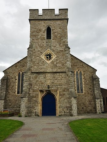 St. Alphege's Church in Whitstable, Kent