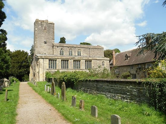 St. Mary's eighth-century Church in Deerhurst, Glos (photo by Irina Lapa)