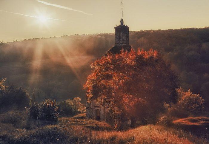 Церковь Архангела Михаила в селе Маслово Ефремовского района Тульской области