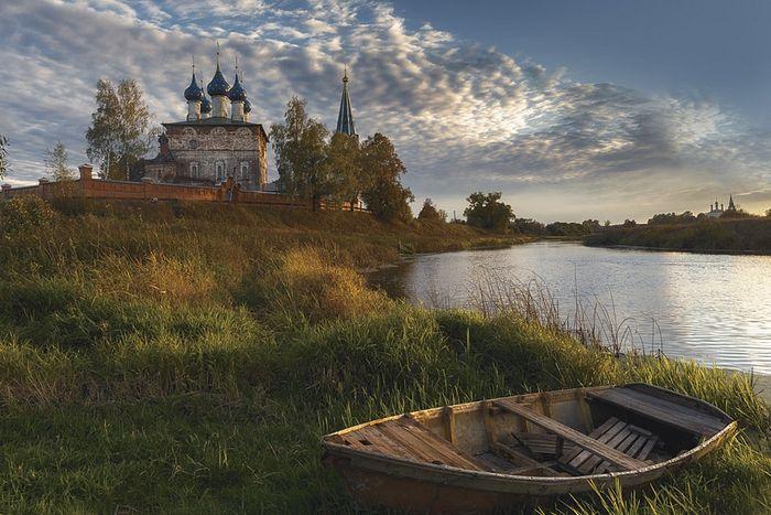 Церковь Благовещения Пресвятой Богородицы в бывшем Благовещенском монастыре в селе Дунилово Ивановской области