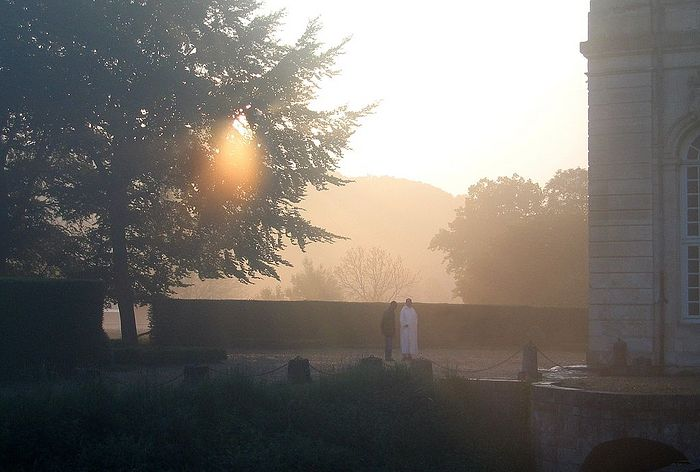 Бекский монастырь в Нормандии