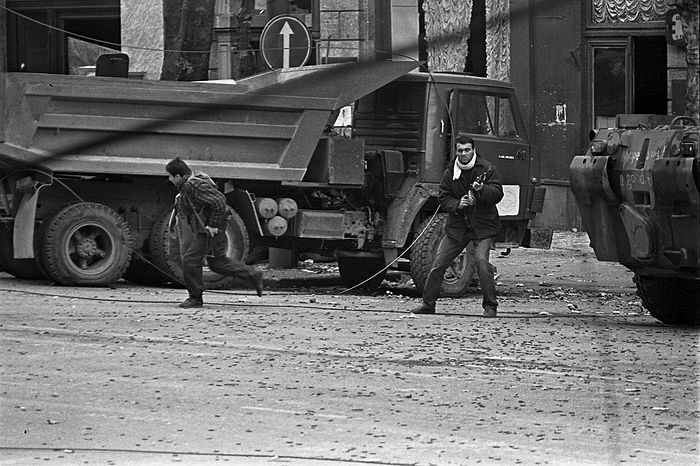 Georgia. December 1991. Photo by Pavel Gorshkov.