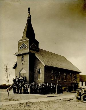 St. Michael's Orthodox Church in the late 1920's