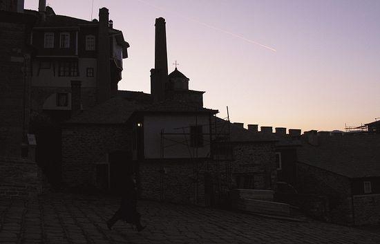 Монастырь Ватопед на Святой Горе Афон
