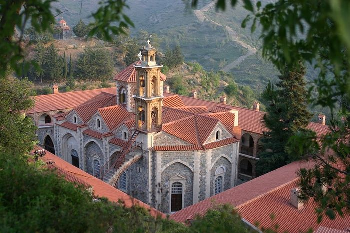 Монастырь Махера. Современный вид