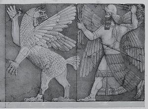 A scene from the Enuma Elish