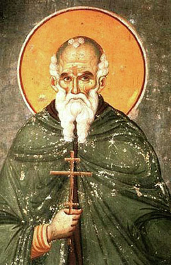 St. Maximus the Confessor, reknowned for his theological cosmology