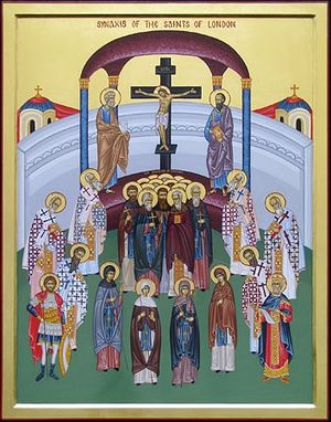 The Synaxis of the Saints of London