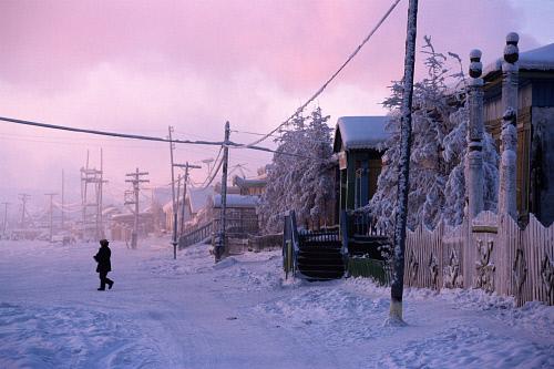 Wintery Verkhoyansk
