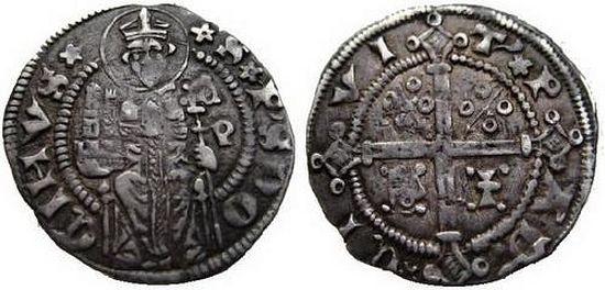 Монета, посвященная св. Просдокиму (1345 – 1359 гг.)