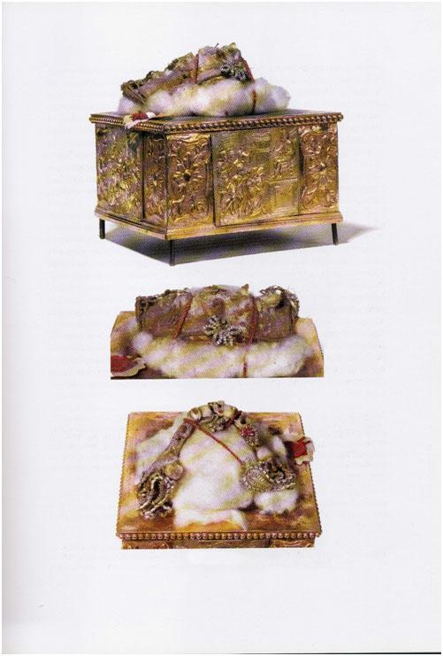 Мощи св. мученицы Иустины Падуанской. Фото из архива базилики Св. Иустины