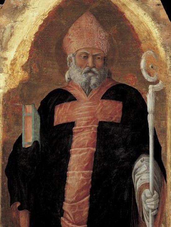 Св. Максим, епископ Падуанский работы А. Мантенья