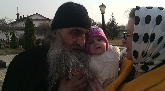 С отцом Илиодором