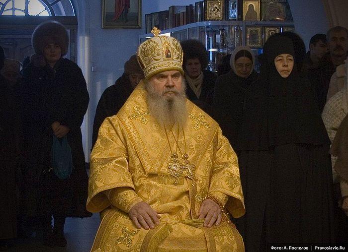 Архиепископ Гавриил (Стеблюченко). Фото: А. Поспелов / Православие.Ru
