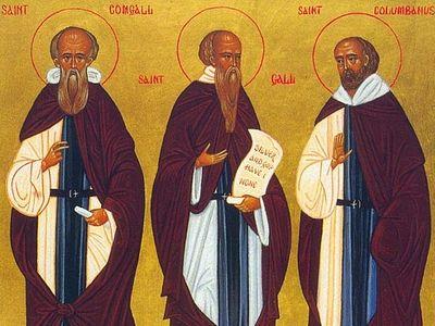 Преподобный Комгалл, игумен Бангорский