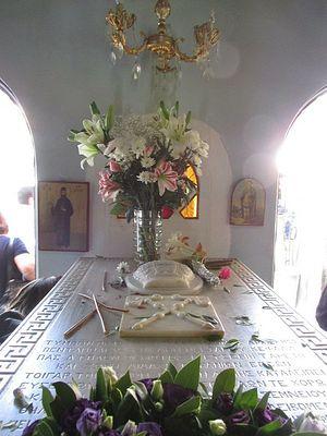 Могила святого Нектария