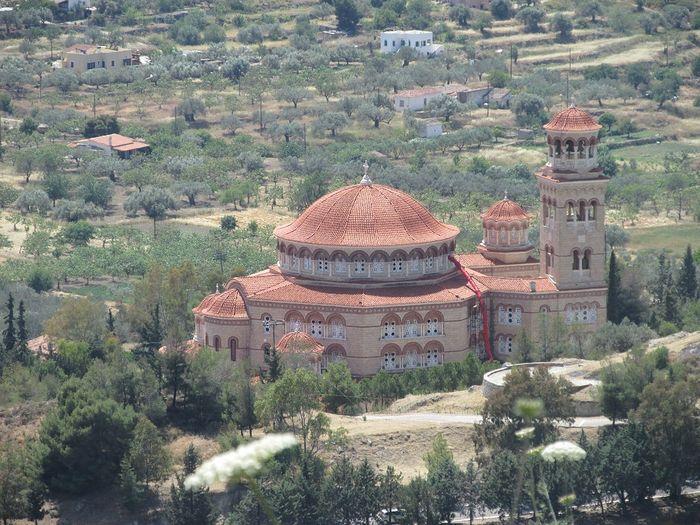 Эгина. Монастырь Святой Троицы