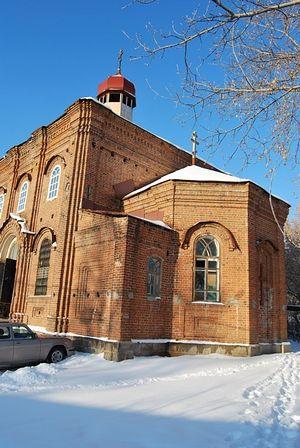 Храм Симеона Верхотурского в Обухово