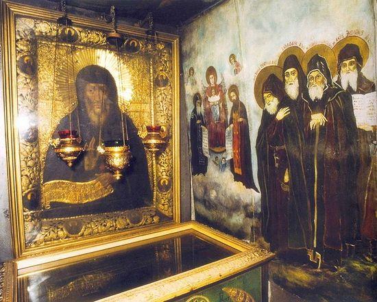 Пещера прп. Антония в Киево-Печерской Лавре