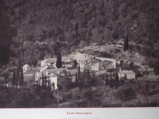 Свято-Успенский Скит Ксилургу. Фото XIX века.