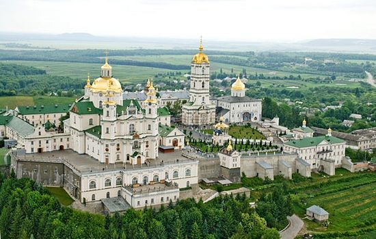 Свято-Успенская Почаевская Лавра, современный вид