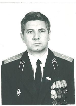 Полковник А. Лучанинов 1992 год.