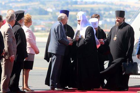 Встреча Патриарха Кирилла в Салониках