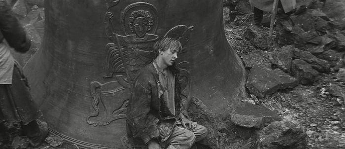 Кадр из фильма «Андрей Рублев». Реж. Андрей Тарковский