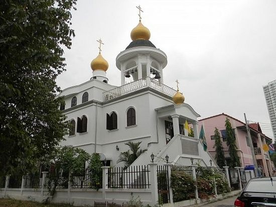 Тајланд. Патаја. Храм Свих светих.