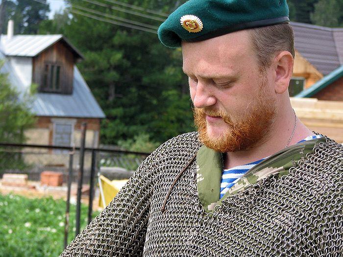 Отец Дмитрий. Военно-патриотический лагерь с отрядом скаутов