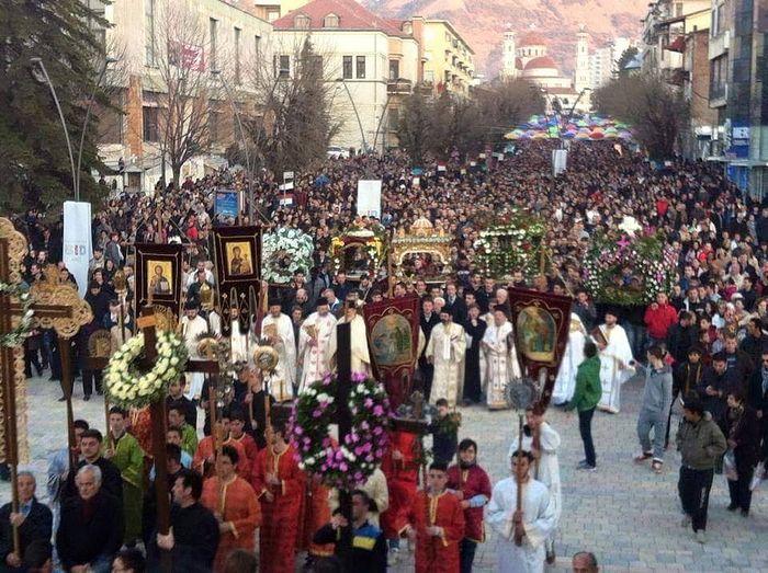 Крестный ход в Албании