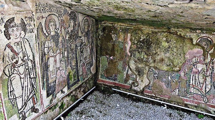Древняя православная мозаика. Дуррес, Албания