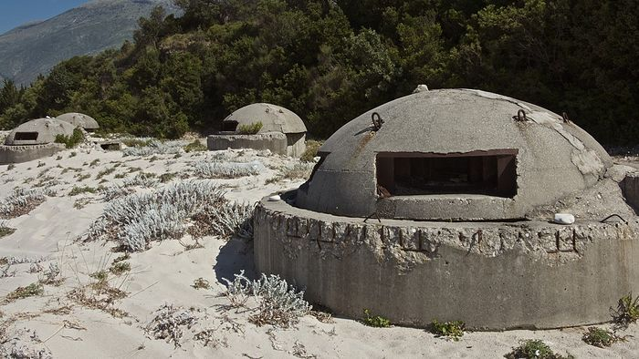 Бункеры времен Энвера Ходжи