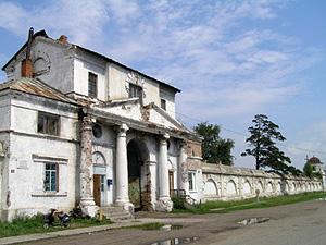 Монастырская ограда. Свято-Троицкий Селенгинский мужской монастырь в Бурятии