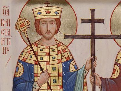 Древнейший канон святому равноапостольному Константину Великому