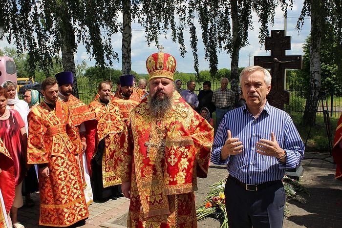 Губернатор Белгородской области Е.С. Савченко