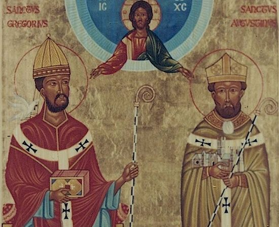 Sts. Gregory the Dialogist and Augustine of Canterbury