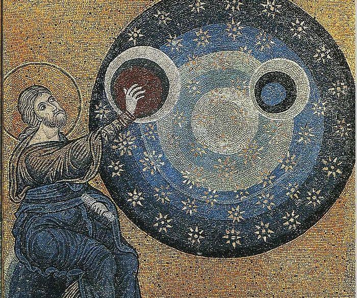 Мозаика собора в честь Рождества Пресвятой Богородицы г. Монреале (Duomo di Monreale)