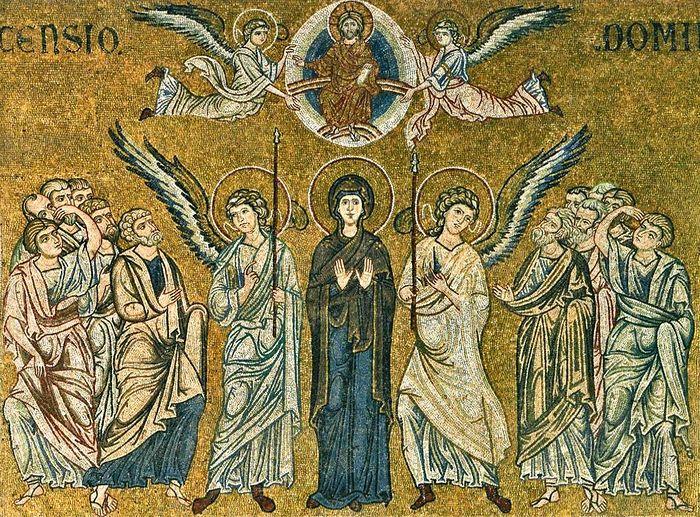 Мозаика собора в честь Рождества Пресвятой Богородицы г. Монреале, Сицилия (Duomo di Monreale)