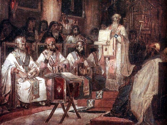 В.Суриков. Второй Вселенский собор