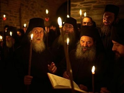 Athonite Monks on the Pan-Orthodox Council