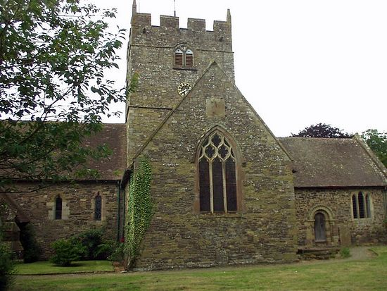 Holy Trinity Church in Wistanstow, Shropshire (photo from Geograph.org.uk)